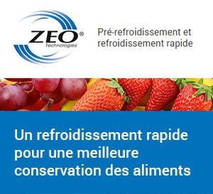 Zeo Technologies : pré-refroidissement et refroidissement rapide