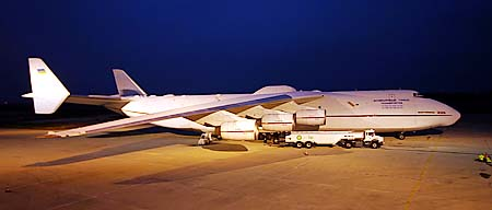 Vol charter à l'international avec l'Antonov 225