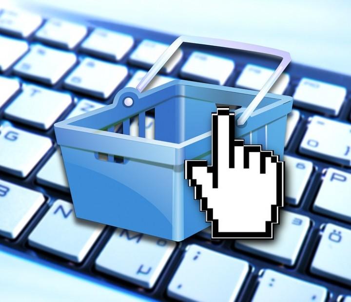 Panier e-commerce, Site de vente en ligne